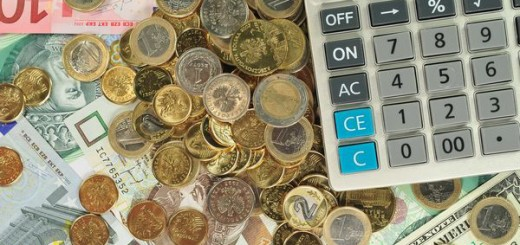 pieniądze w biurze rachunkowym